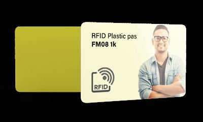 RFID passen bedrukt