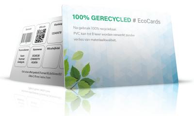 100% gerecyclede pvc passen